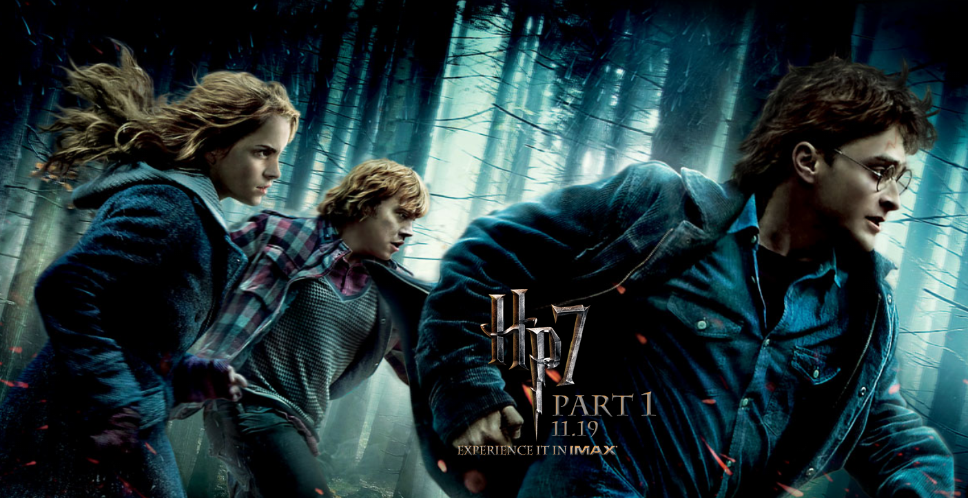 Resultado de imagem para Harry Potter e as reliquias da morte parte 1